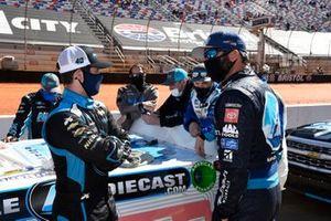 Martin Truex Jr., Kyle Busch Motorsports, Toyota Tundra Auto-Owners Insurance, Ryan Truex, Niece Motorsports, Chevrolet Silverado CircleBDiecast.com
