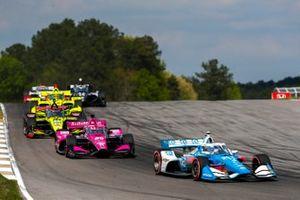 Scott McLaughlin Team Penske Chevrolet, Jack Harvey, Meyer Shank Racing Honda