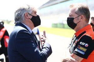 Jorge Viegas, Hervé Poncharal, KTM Tech3