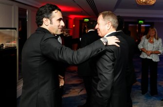Dario Franchitti avec Martin Brundle