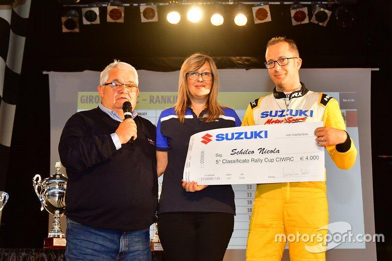 Nicola Schileo premiato ad Adria per il Trofeo Rally Suzuki