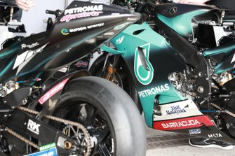 Bike of Franco Morbidelli, Petronas Yamaha SRT