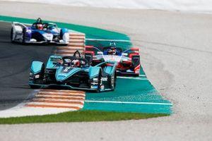 Mitch Evans, Jaguar Racing, Jaguar I-Type 4 Jérôme d'Ambrosio, Mahindra Racing, M6Electro, Maximillian Gunther, BMW I Andretti Motorsports, BMW iFE.20