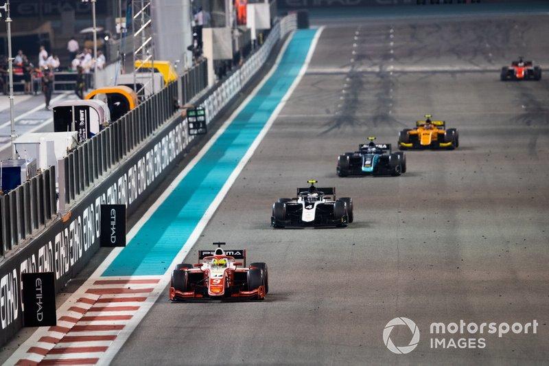 Mick Schumacher, Prema Racing y Nyck De Vries, ART Grand Prix