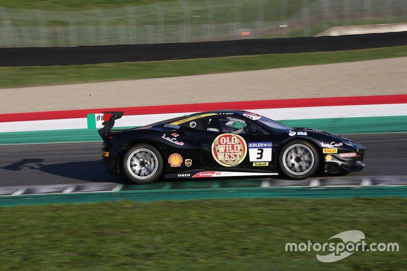 #3 Ferrari 488 Challenge, Rossocorsa: Niccolò Schirò