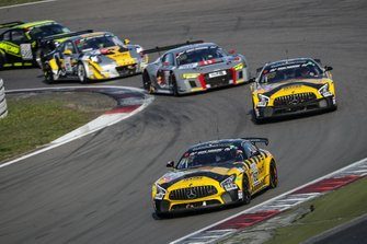 #152 BLACK FALCON Team KNUFFI Mercedes-AMG GT4: Mustafa Mehmet Kaya, Mike Stursberg