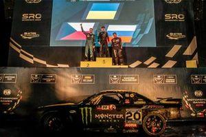 Ceremonia del podio Copa Drifting