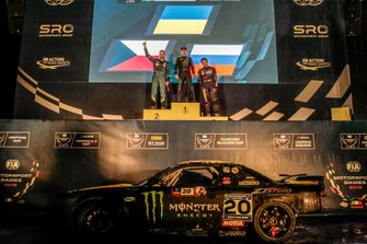 Podium Ceremony Drifting Cup
