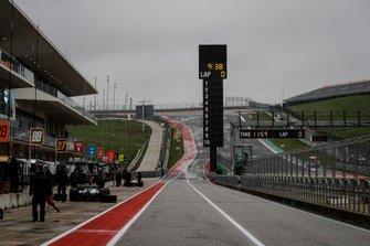 Alexander Rossi, Andretti Autosport Honda, Josef Newgarden, Team Penske Chevrolet, rain