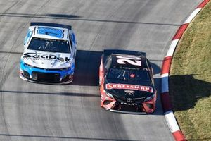 Erik Jones, Joe Gibbs Racing, Toyota Camry Craftsman, Landon Cassill, StarCom Racing, Chevrolet Camaro Sea Deck/Units