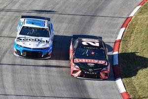 Erik Jones, Joe Gibbs Racing, Toyota Camry Craftsman, Landon Cassill, StarCom Racing, Chevrolet Camaro Sea Deck/Units