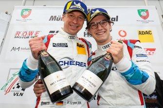 #5 Phoenix Racing Audi R8 LMS: Vincent Kolb, Frank Stippler