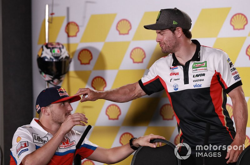 Джек Миллер, Alma Pramac Racing, и Кэл Кратчлоу, LCR Honda Castrol