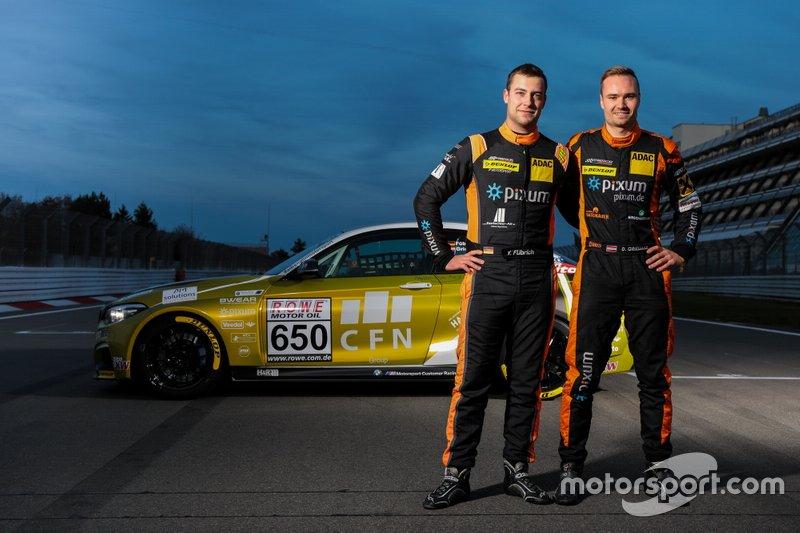 #650 BMW M240i Racing Cup: Yannick Fübrich, David Griessner