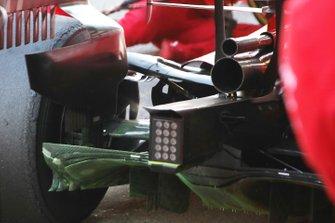 Detalle trasro del Ferrari SF1000