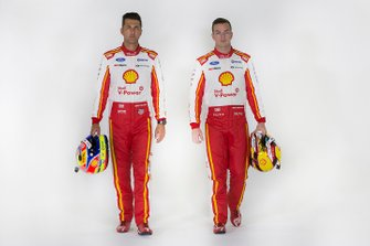 Fabian Coulthard, Scott McLaughlin, DJR Team Penske