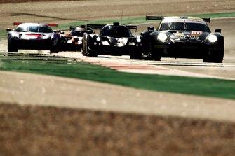 #80 Ebimotors Porsche 911 RSR: Fabio Babini, Marco Frezza, Sébastien Fortuna