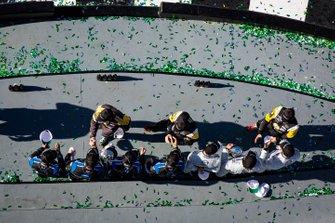 #10 Wayne Taylor Racing Cadillac DPi: Renger Van Der Zande, Ryan Briscoe, Scott Dixon, #77 Mazda Team Joest Mazda DPi: Oliver Jarvis, Tristan Nunez, Olivier Pla, #5 JDC-Miller MotorSports Cadillac DPi: Joao Barbosa, Sebastien Bourdais, Loic Duval