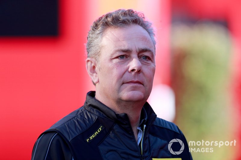 Mario Isola, Racing Manager de Pirelli Motorsport