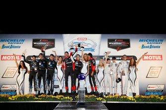 Podium: 1. #31 Action Express Racing Cadillac DPi: Felipe Nasr, Eric Curran, Pipo Derani, 2. #10 Wayne Taylor Racing Cadillac DPi: Renger Van Der Zande, Jordan Taylor, Matthieu Vaxiviere, 3. #7 Acura Team Penske Acura DPi: Ricky Taylor, Helio Castroneves, Graham Rahal