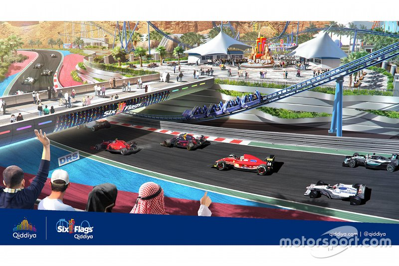 Presentation of the Qiddiya Grand Prix
