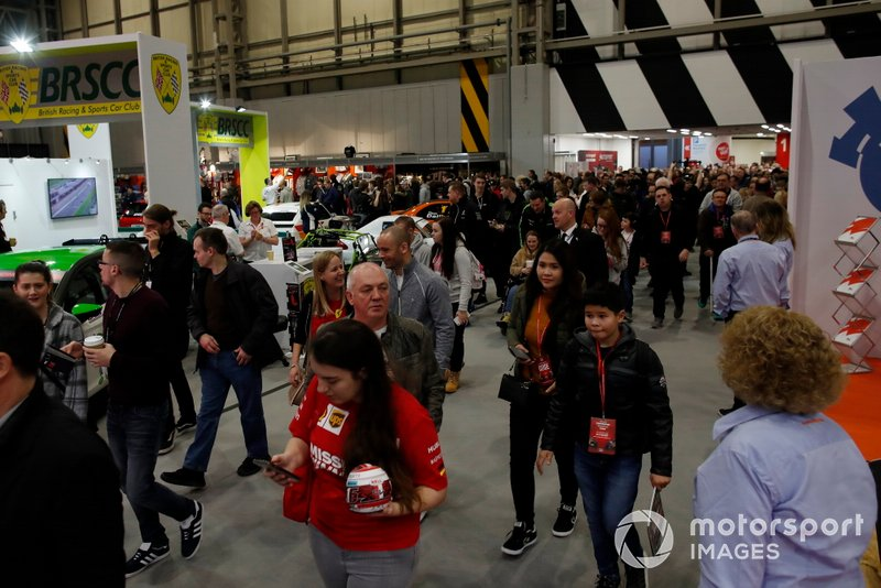 Fans pour in as Autosport International 2020 opens
