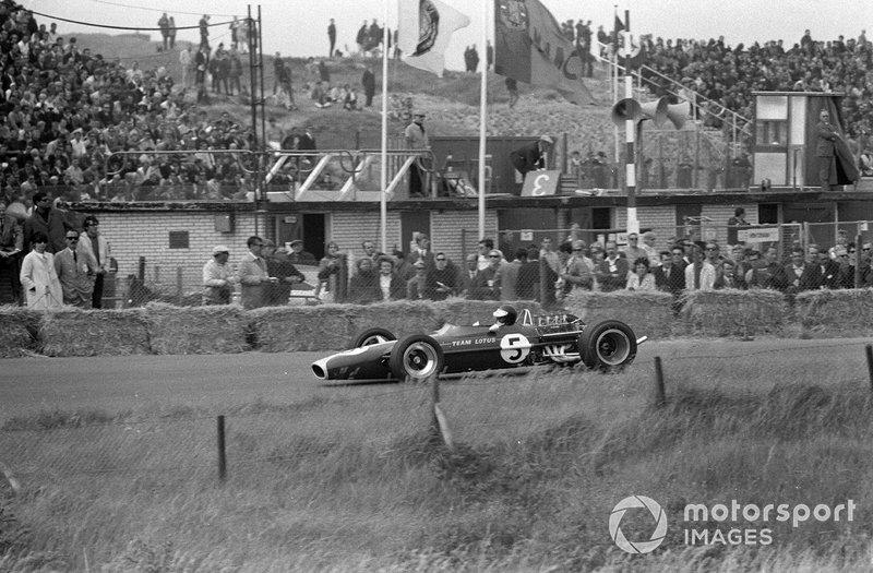 Zandvoort 1967: Jim Clark in de Lotus