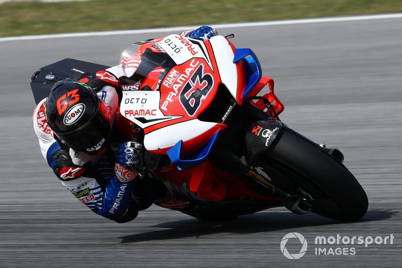 4º Francesco Bagnaia, Pramac Racing - 1:58.502
