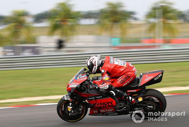 6º Danilo Petrucci, Ducati Team - 1:58.606
