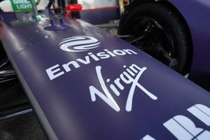 The front of the Envision Virgin Racing, Audi e-tron FE06
