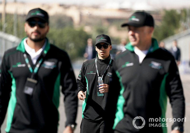 Mashhur Bal Hejaila, Saudi Racing on the track walk