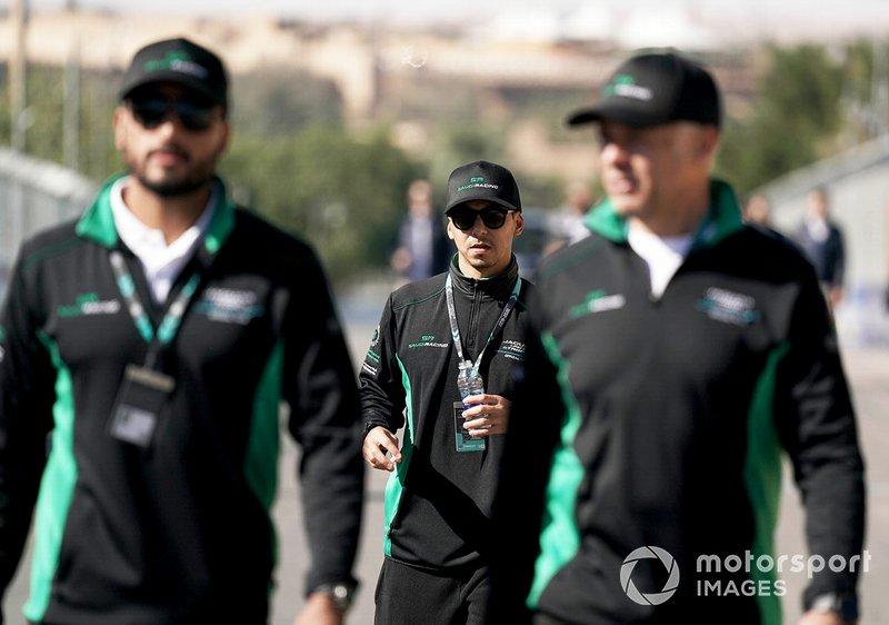 Mashhur Bal Hejaila, Saudi Racing on the track walk