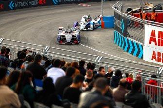 Robin Frijns, Virgin Racing, Audi e-tron FE06, Maximilian Gunther, BMW I Andretti Motorsports, BMW iFE.20