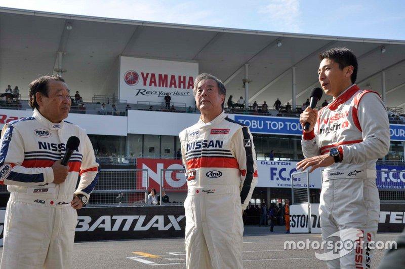 Masahiro Hasemi, Kazuyoshi Hoshino, Tsugio Matsuda