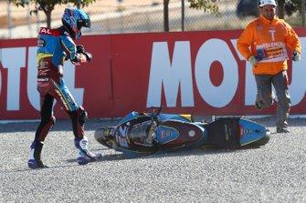 Alex Marquez, Marc VDS Racing crash