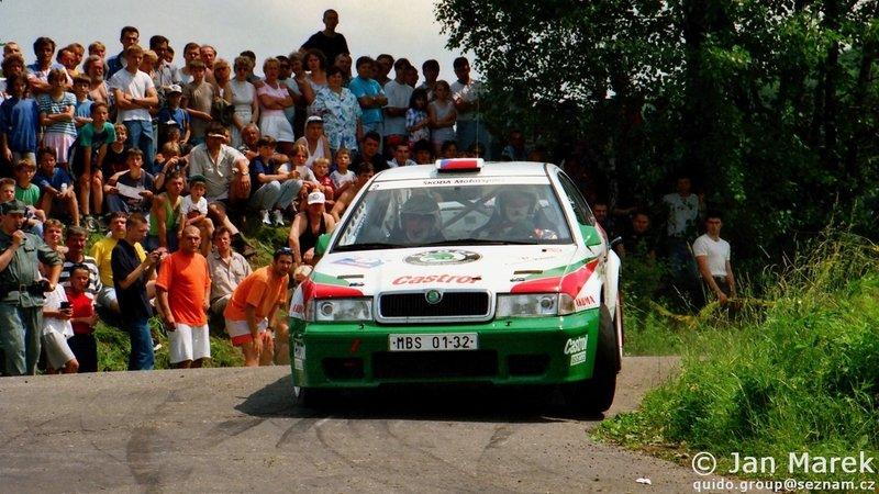Emil Triner, Miloš Hůlka, Škoda Octavia Kit Car, Rajd Polski 1998