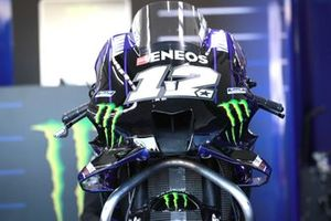 Bike of Maverick Vinales, Yamaha Factory Racing