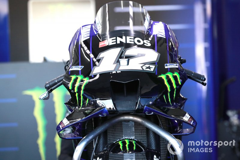 Motocykl Mavericka Vinalesa, Yamaha Factory Racing