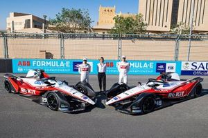 Felipe Massa, Edoardo Mortara, Susie Wolff, Venturi Racing