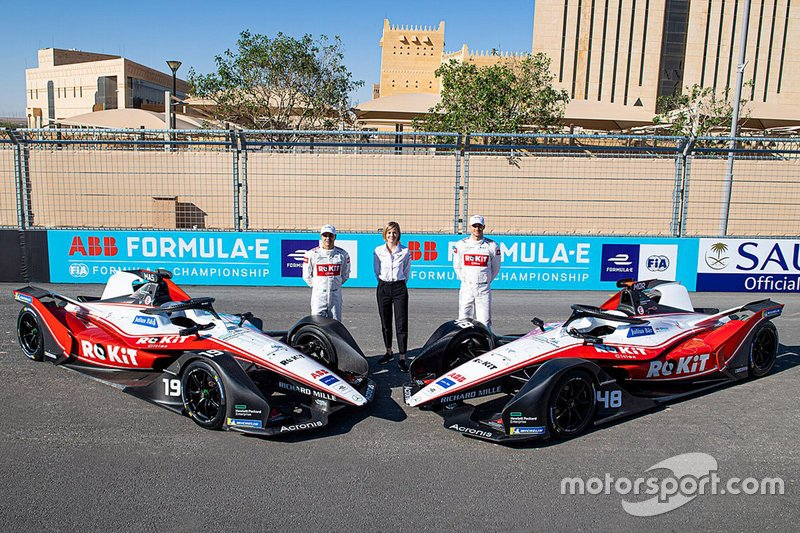 Venturi Racing Formula E (estrenan patrocinio de Rokit y decoración)