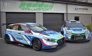 Paddon Rallysport Group Hyundai i30 TCR and Hyundai i20 AP4