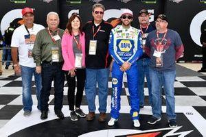 Polesitter Chase Elliott, Hendrick Motorsports, Chevrolet Camaro NAPA Night Vision