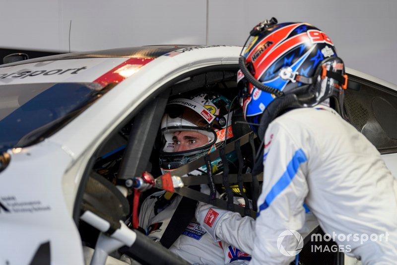 #25 BMW Team RLL BMW M8 GTE, GTLM: Connor De Phillippi, Colton Herta