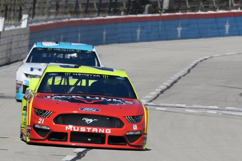 Paul Menard, Wood Brothers Racing, Ford Mustang Menards / Jack Links, Austin Dillon, Richard Childress Racing, Chevrolet Camaro RigUp