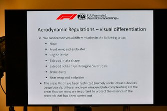 The 2021 Formula 1 technical regulations are unveiled in a press conference
