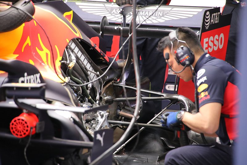 Motor del Red Bull Racing RB16