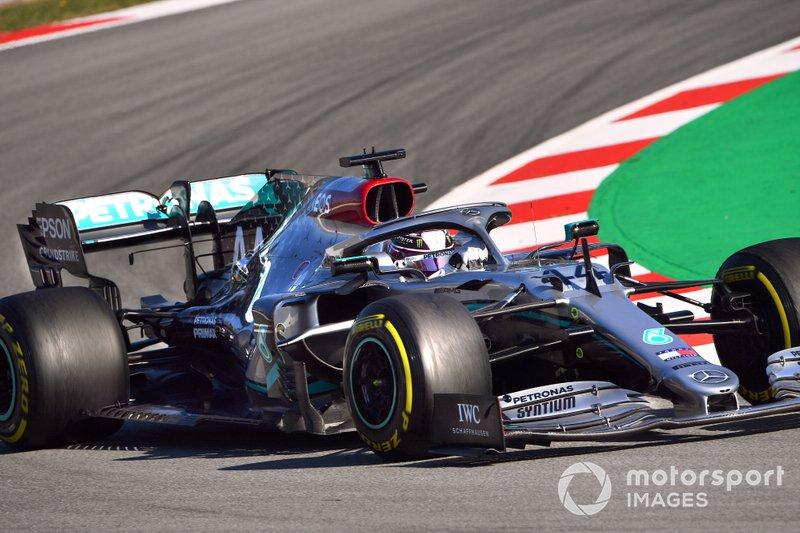 Lewis Hamilton, Mercedes F1 W11 F1