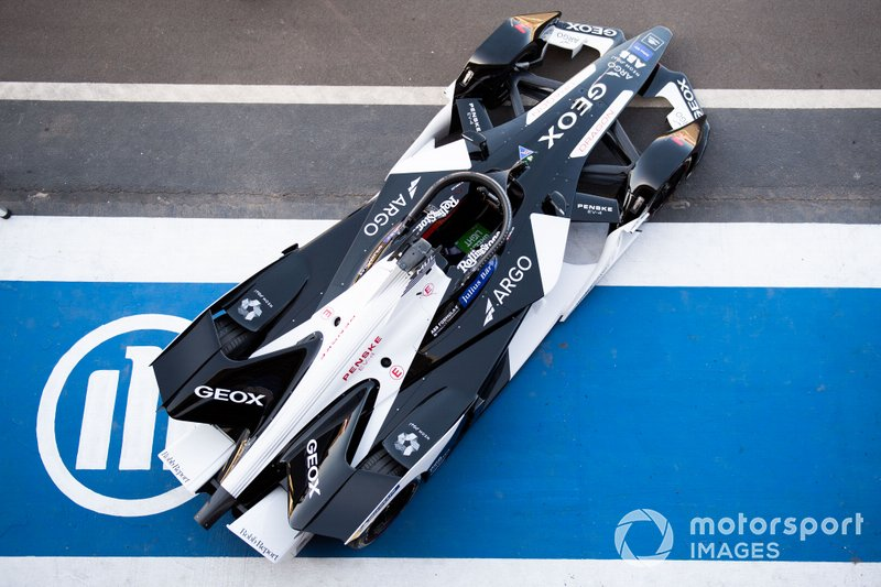 Nico Müller, Dragon Racing, Penske EV-4 in the pit lane