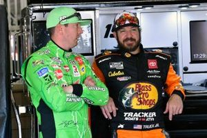 Kyle Busch, Joe Gibbs Racing, Toyota Camry Interstate Batteries and Martin Truex Jr., Joe Gibbs Racing, Toyota Camry Bass Pro Shops