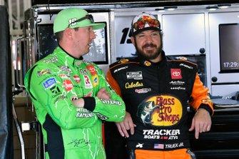 Kyle Busch, Joe Gibbs Racing, Toyota Camry Interstate Batteries, Martin Truex Jr., Joe Gibbs Racing, Toyota Camry Bass Pro Shops